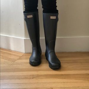 Hunter Tall waterproof Rain Boots UK5 US6M/7F